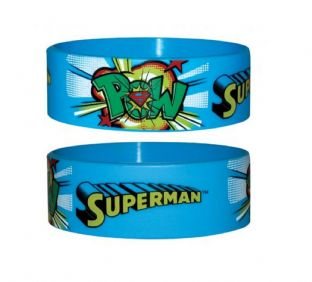 Superman - Rubber Wristband